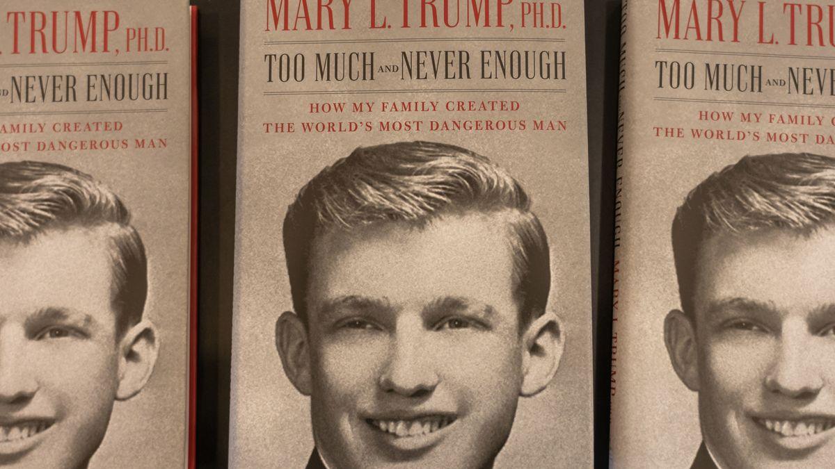 Das Cover des neuen Buches über US-Präsident Trump seiner Nichte Mary.