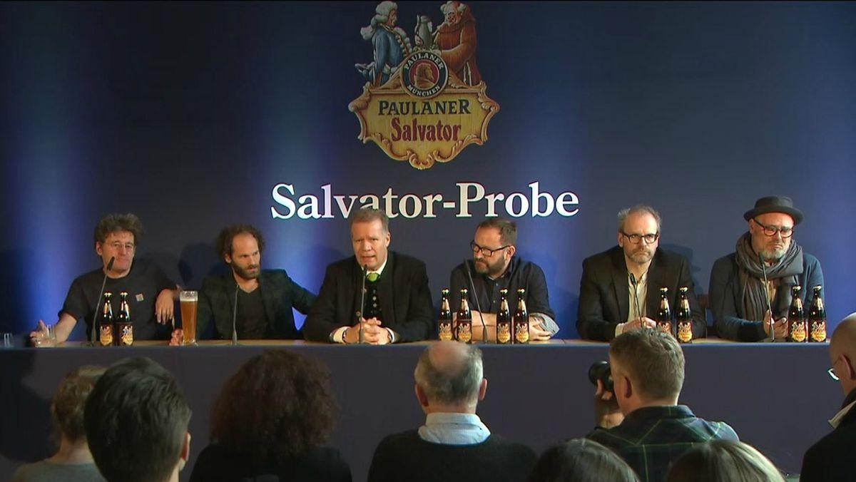 Pressekonferenz zum Nockherberg 2020.