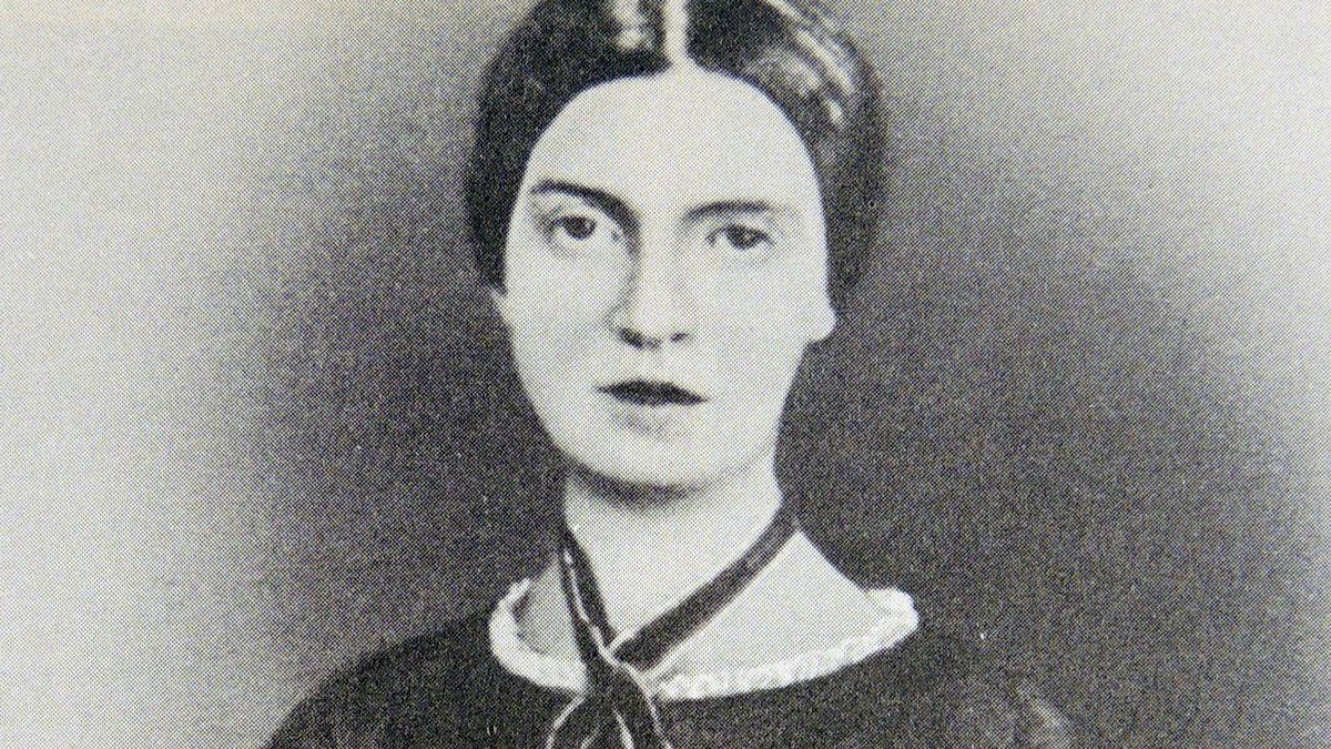 Historisches Porträt der amerikanischen Dichterin Emily Dickinson. Zu Lebzeiten war nur ein kleiner Teil ihres beeindruckenden lyrischen Werkes bekannt - und das nur Vertrauten.