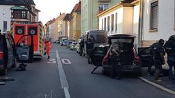 Polizeieinsatz Aschaffenburger Innenstadt | Bild:BR/Farsin Behnam