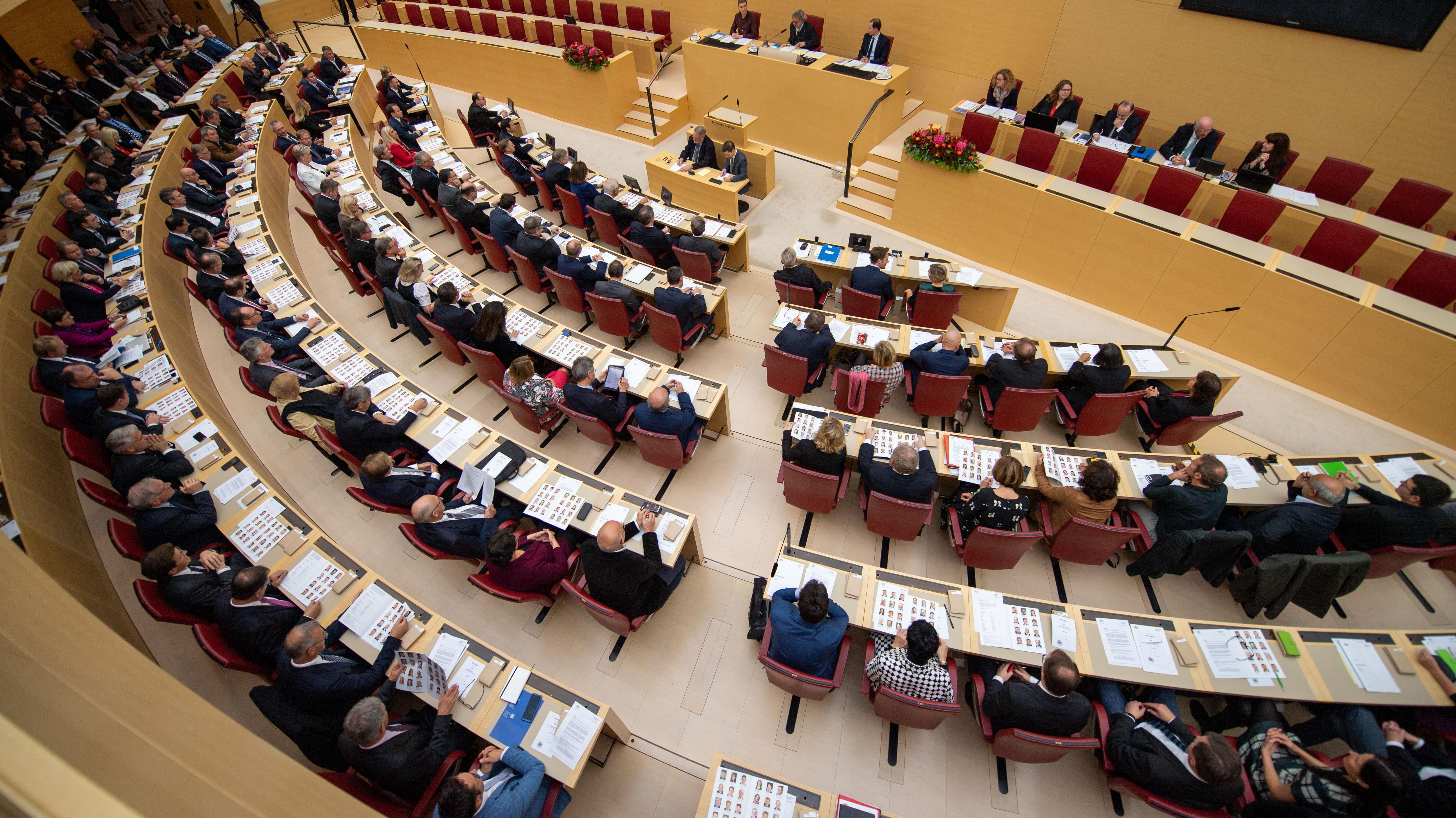 Konstituierende Sitzung des neuen Landtags