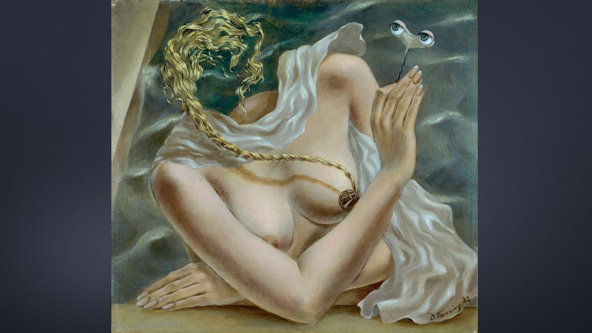 Dorothea Tanning, Spannung, 1942,