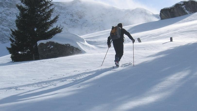 Symbolbild Skitourengeher
