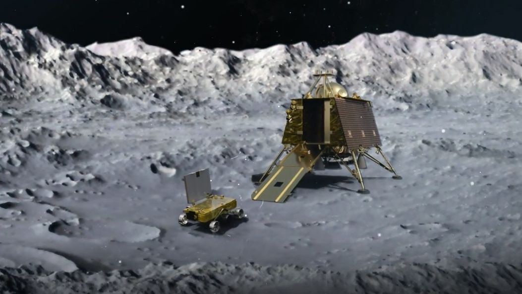 Chandrayaan-2 - Rover und Orbiter