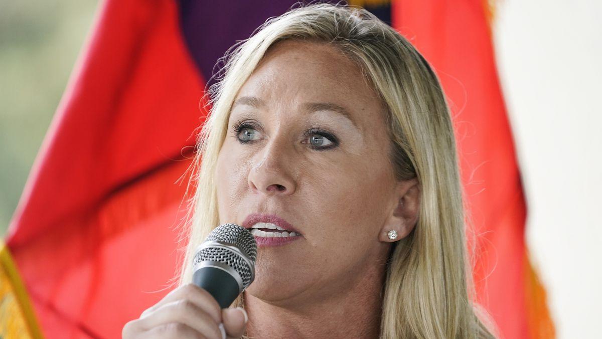 Marjorie Taylor Greene - Unterstützerin der QAnon-Verschwörungstheorie und neues Mitglied des US-Repräsentantenhauses.