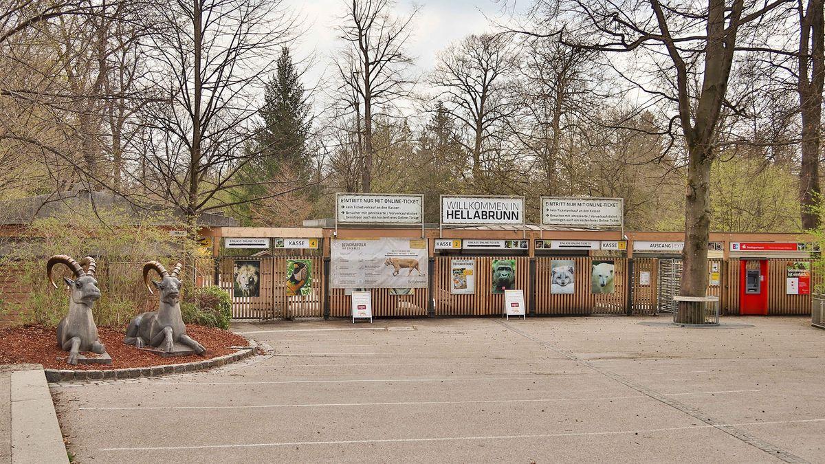 Symbolbild: Eingangsbereich Tierpark Hellabrunn