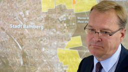 Der Bamberger Oberbürgermeister Andreas Starke (SPD)  | Bild:picture alliance / dpa | Nicolas Armer