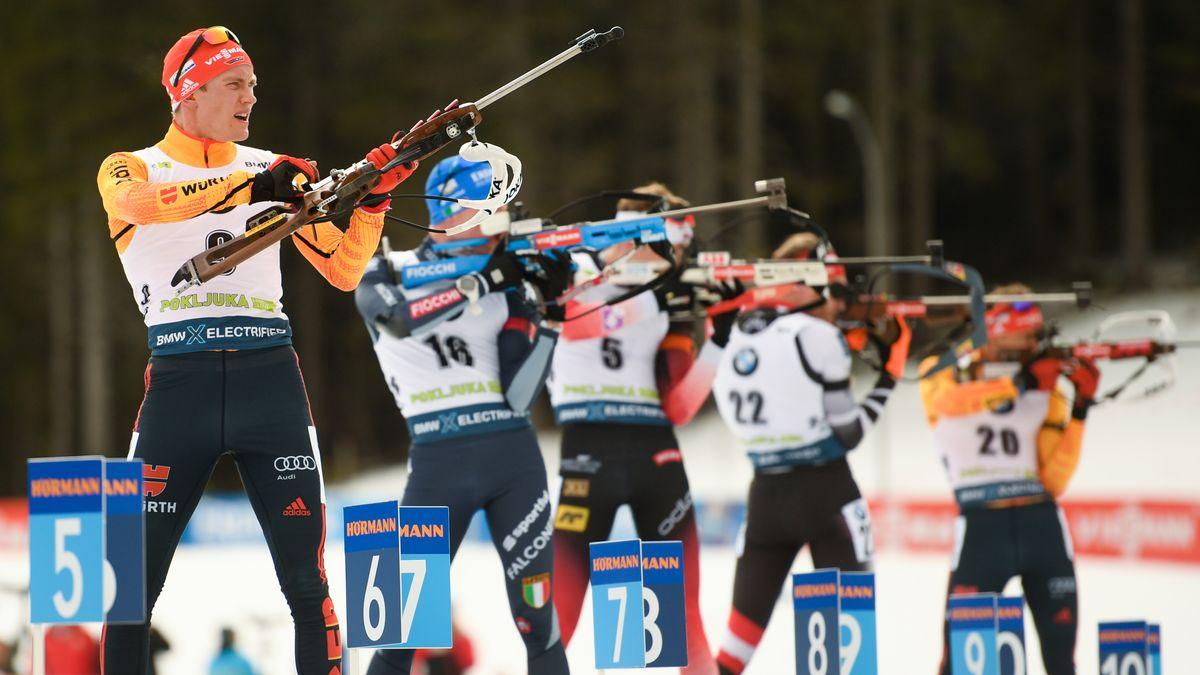 Biathlon-Weltcup in Pokljuka