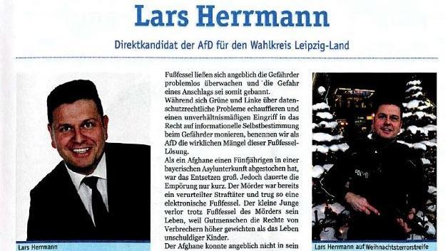 """AfD-Politiker Lars Herrmann in der """"Blauen Post"""""""