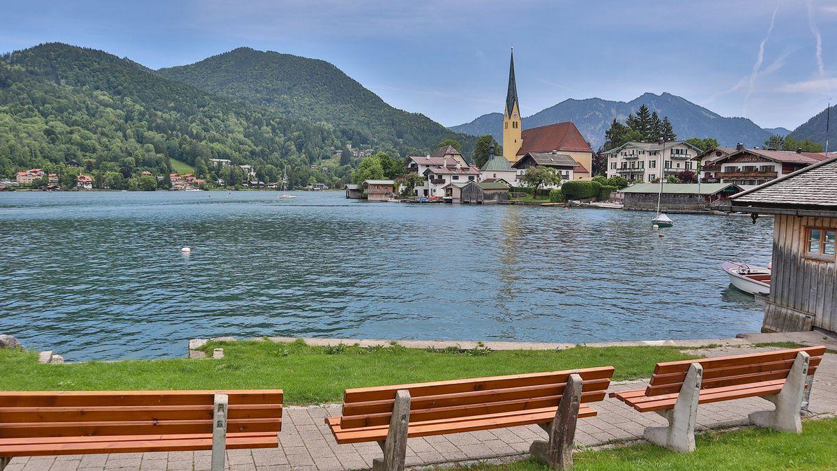 Anziehungspunkt für Touristen: Tegernsee im Landkreis Miesbach.