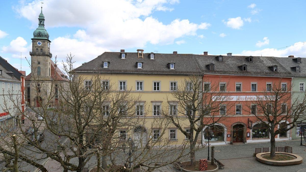 Marktplatz in Wunsiedel