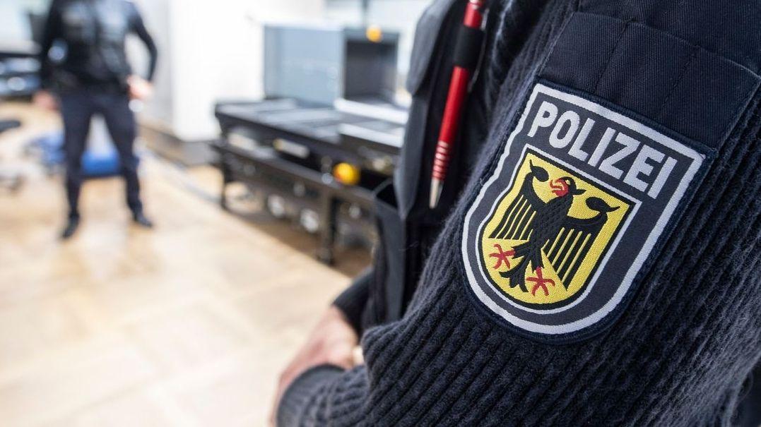 Bundespolizei am Frankfurter Flughafen