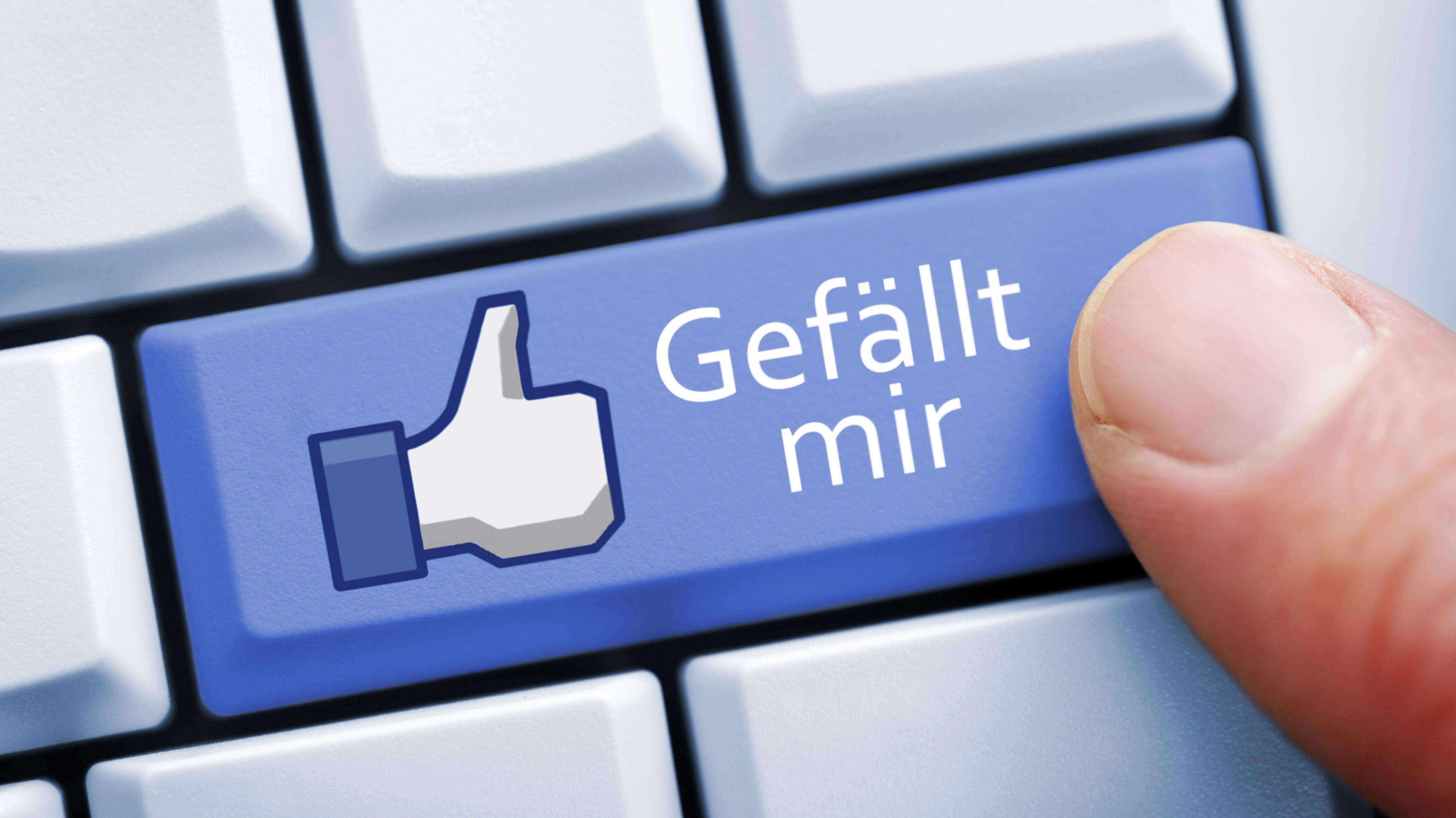 """Facebooks """"Gefällt mir""""-Button"""