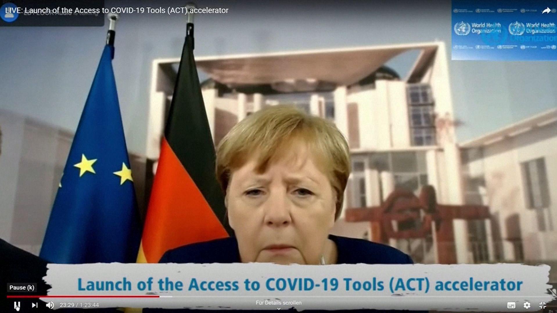 Auch Bundeskanzlerin Merkel kennt es: Technik-Probleme bei Videokonferenzen.