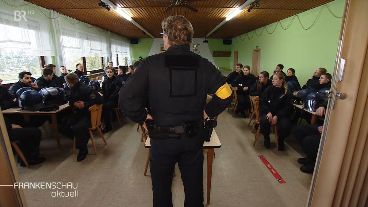 Übung der Bundespolizei in Oerlenbach