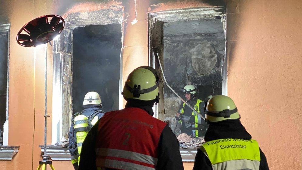 Frau stirbt bei Wohnungsbrand in Nürnberg   Bild:news5