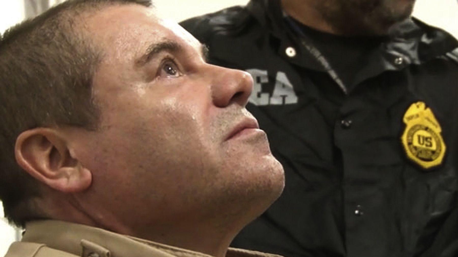 """Der mexikanische Drogenboss Joaquín """"El Chapo"""" Guzmán (Archivbild vom Januar 2017)"""
