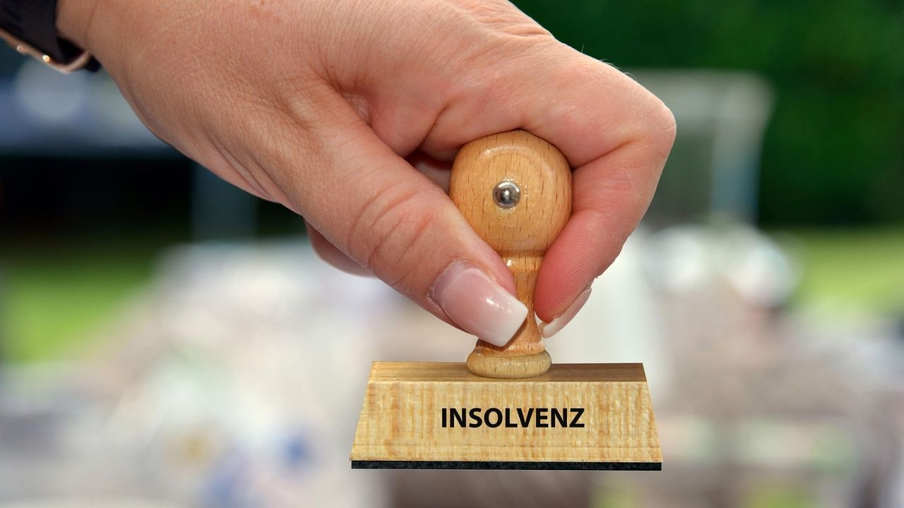 """Stempel mit der Aufschrift """"Insolvenz"""""""