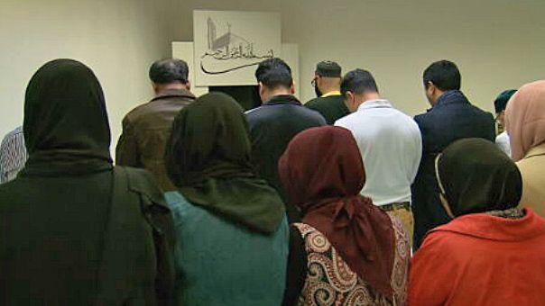 Münchner unabhängige Muslime im neuen Gebetsraum