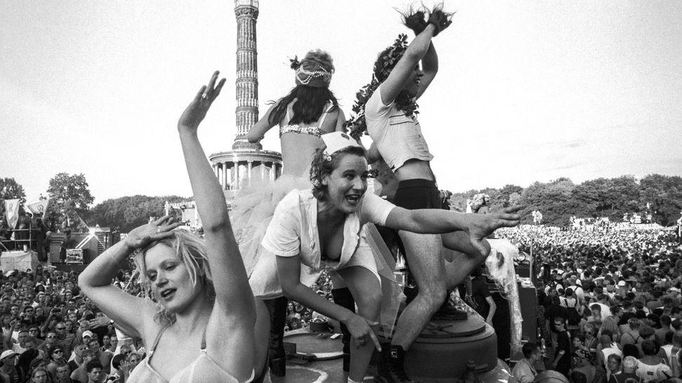 Loveparade in Berlin