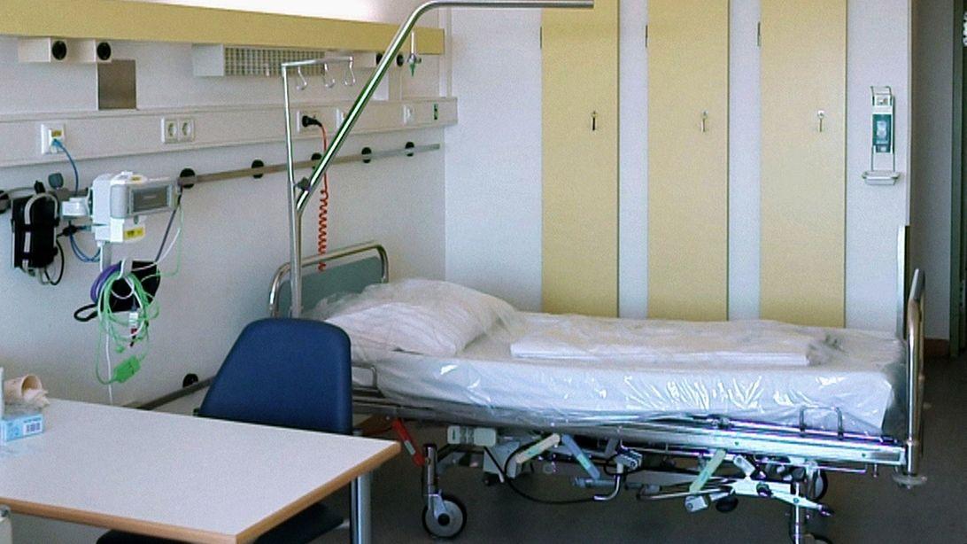 Ein Krankenhauszimmer (Symbolbild).