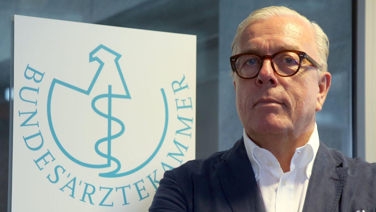 Präsident der Bundesärztekammer: Klaus Reinhardt
