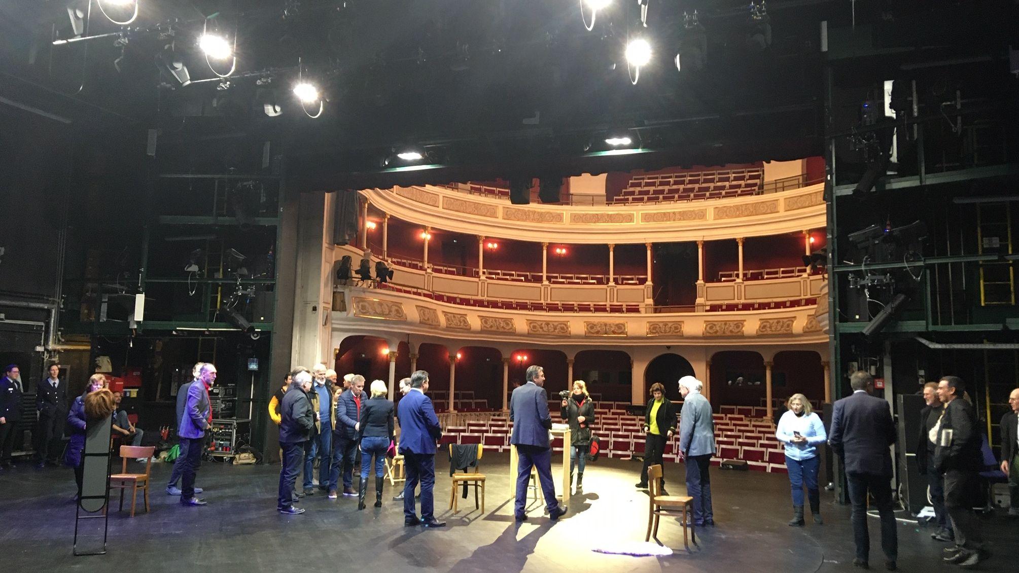 Bühne des Aschaffenburger Stadttheaters