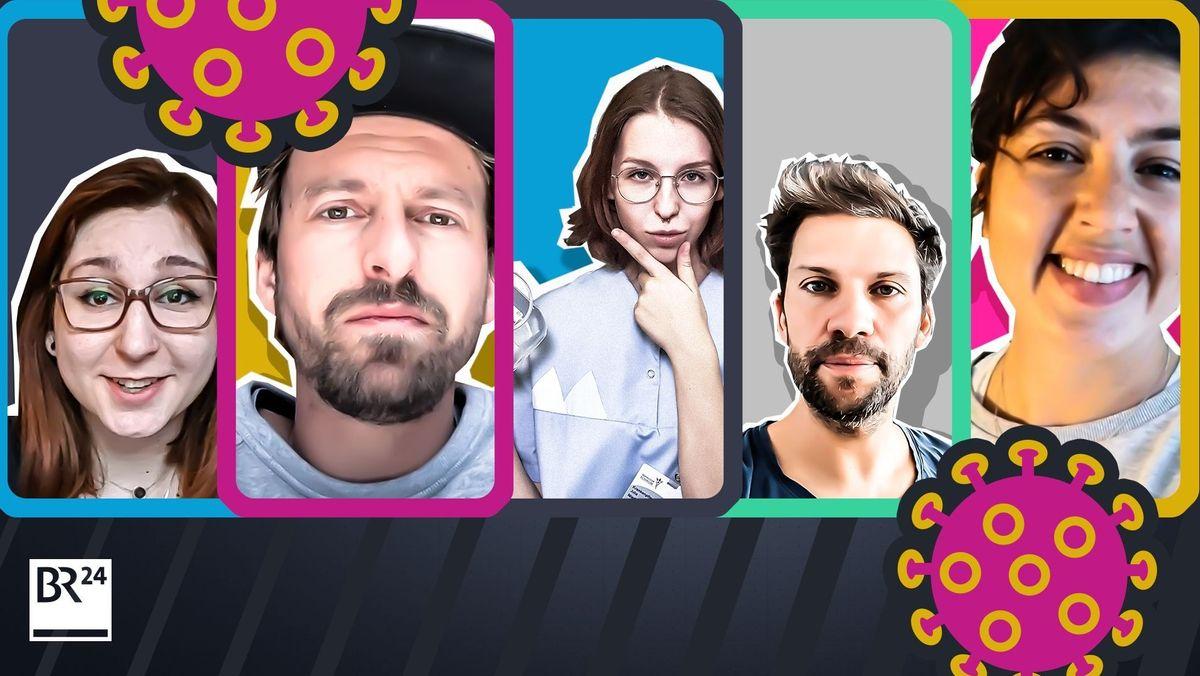 Corona-Alltag für fünf junge Leute in der BR-Webdoku