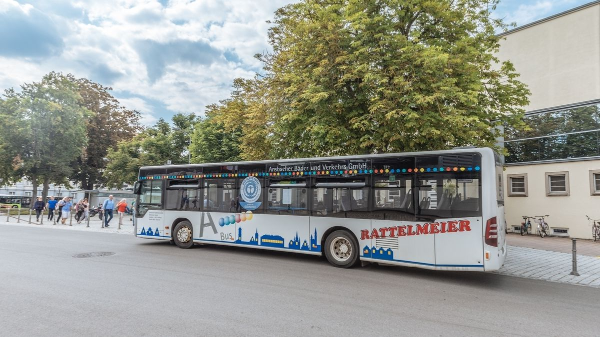 Bus in Ansbach
