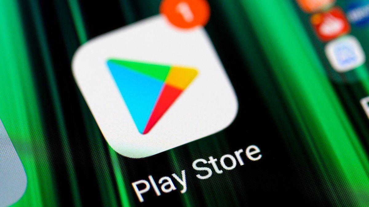 Logo des Google Play Store