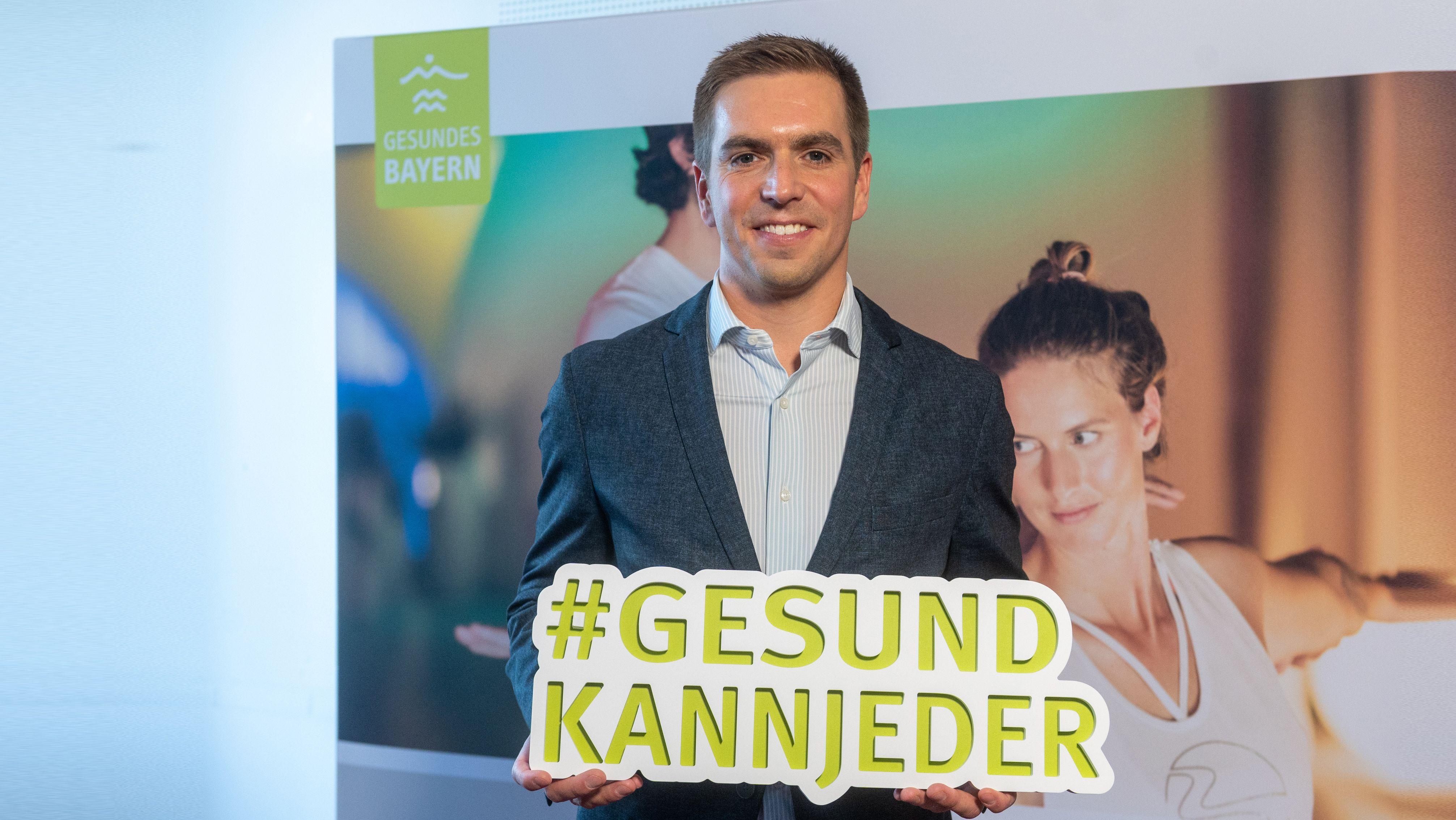 Philipp Lahm, Ex-Fußballprofi beim FC Bayern, ist Botschafter für den Bayerischen Heilbäder-Verband