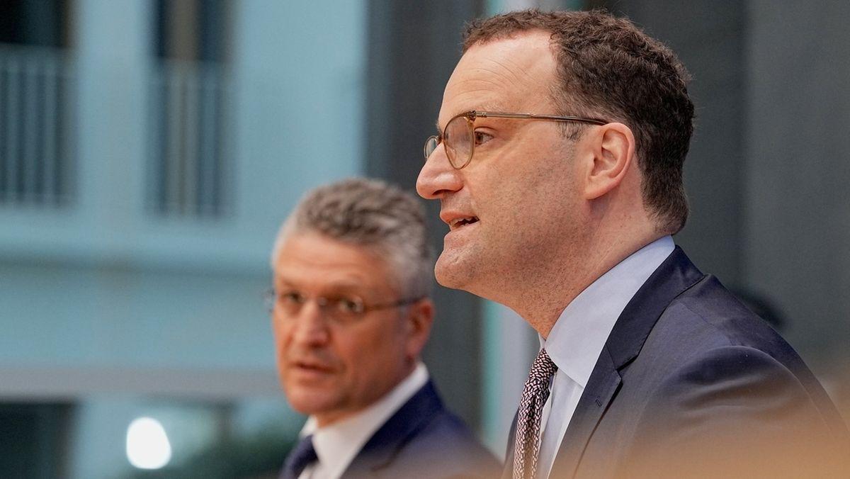 Coronavirus: Spahn Pressekonferenz