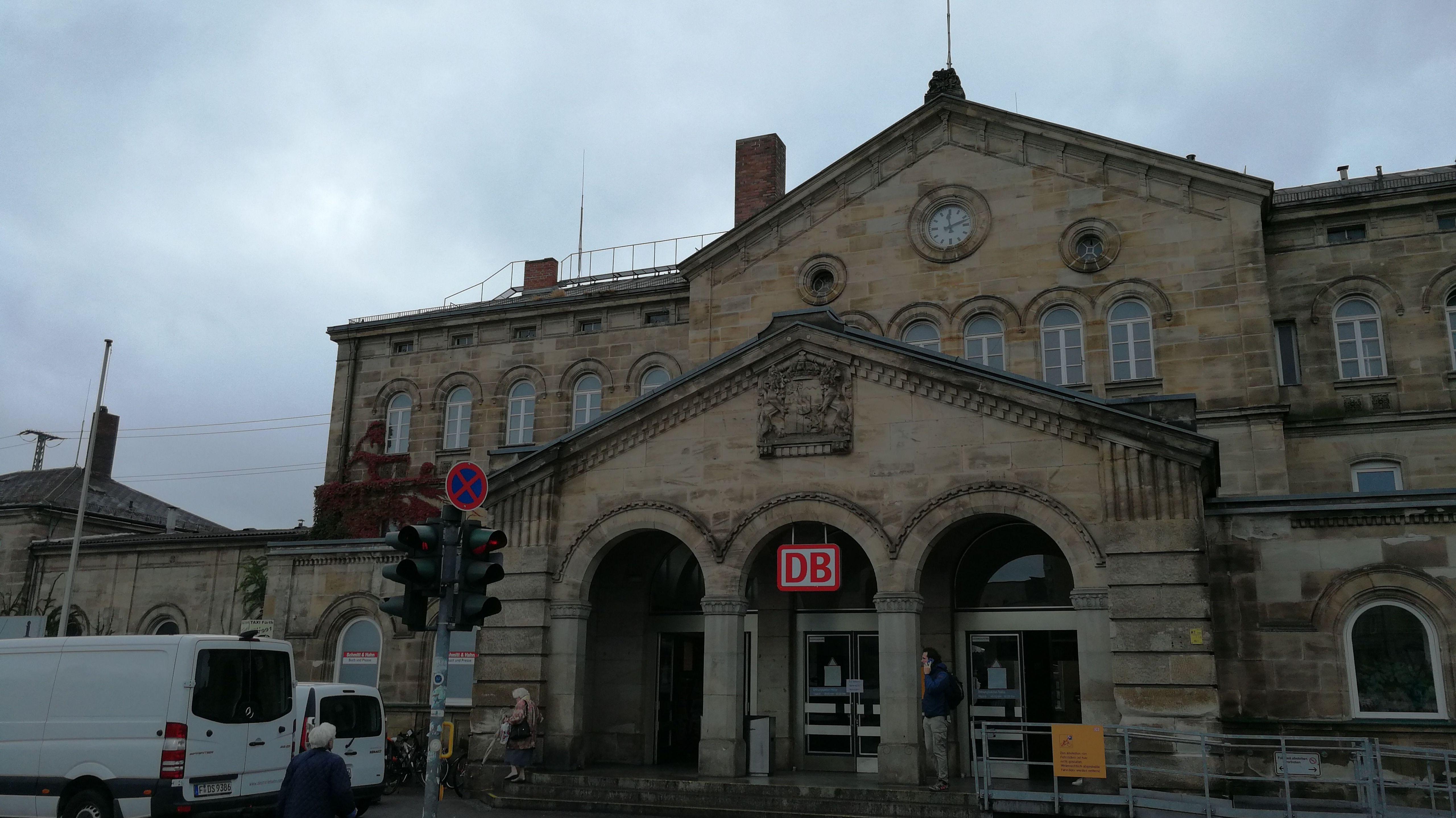 Der Fürther Hauptbahnhof
