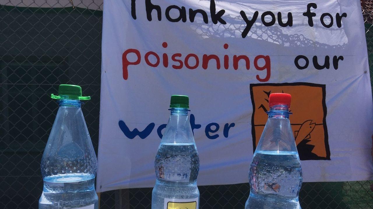 Aktion gegen PFC-Gift bei US-Kaserne in Katterbach