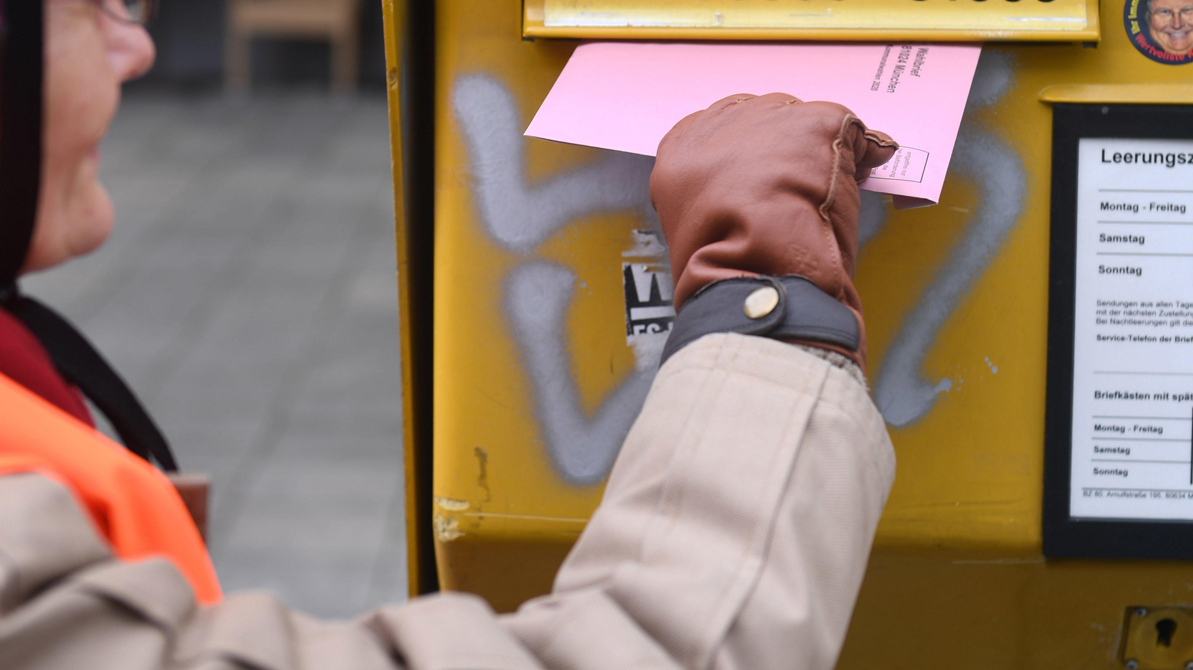Die Deutsche Post hat sich mit dem Bayerischen Innenministerium auf eine Sonder-Leerung zur Kommunalwahl geeinigt.