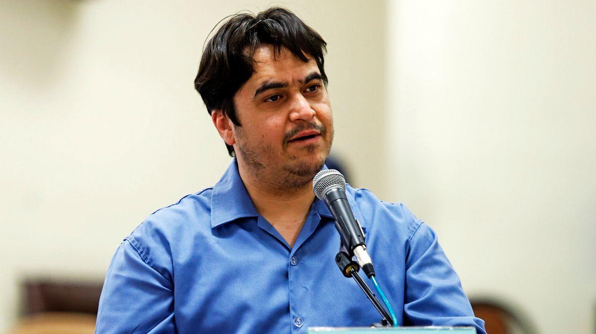 Der Journalist und Regierungskritiker Ruhollah Sam wurde im Juni 2020 zum Tode verurteilt