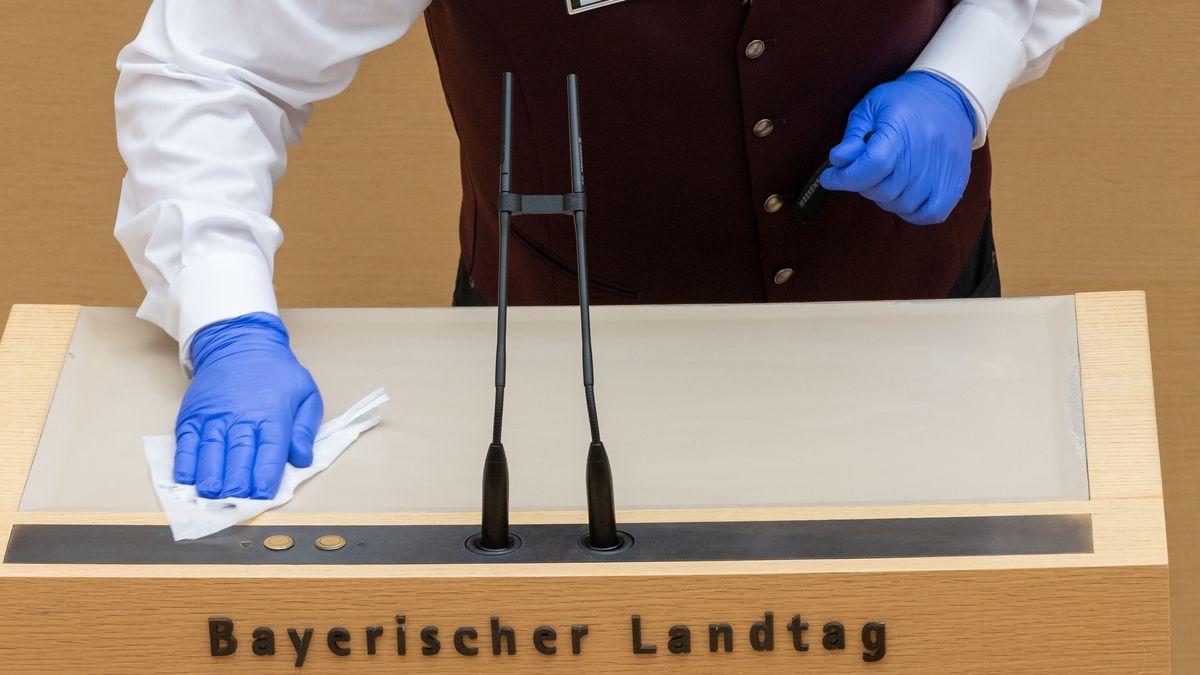 Plenarsitzung des Bayerischen Landtags