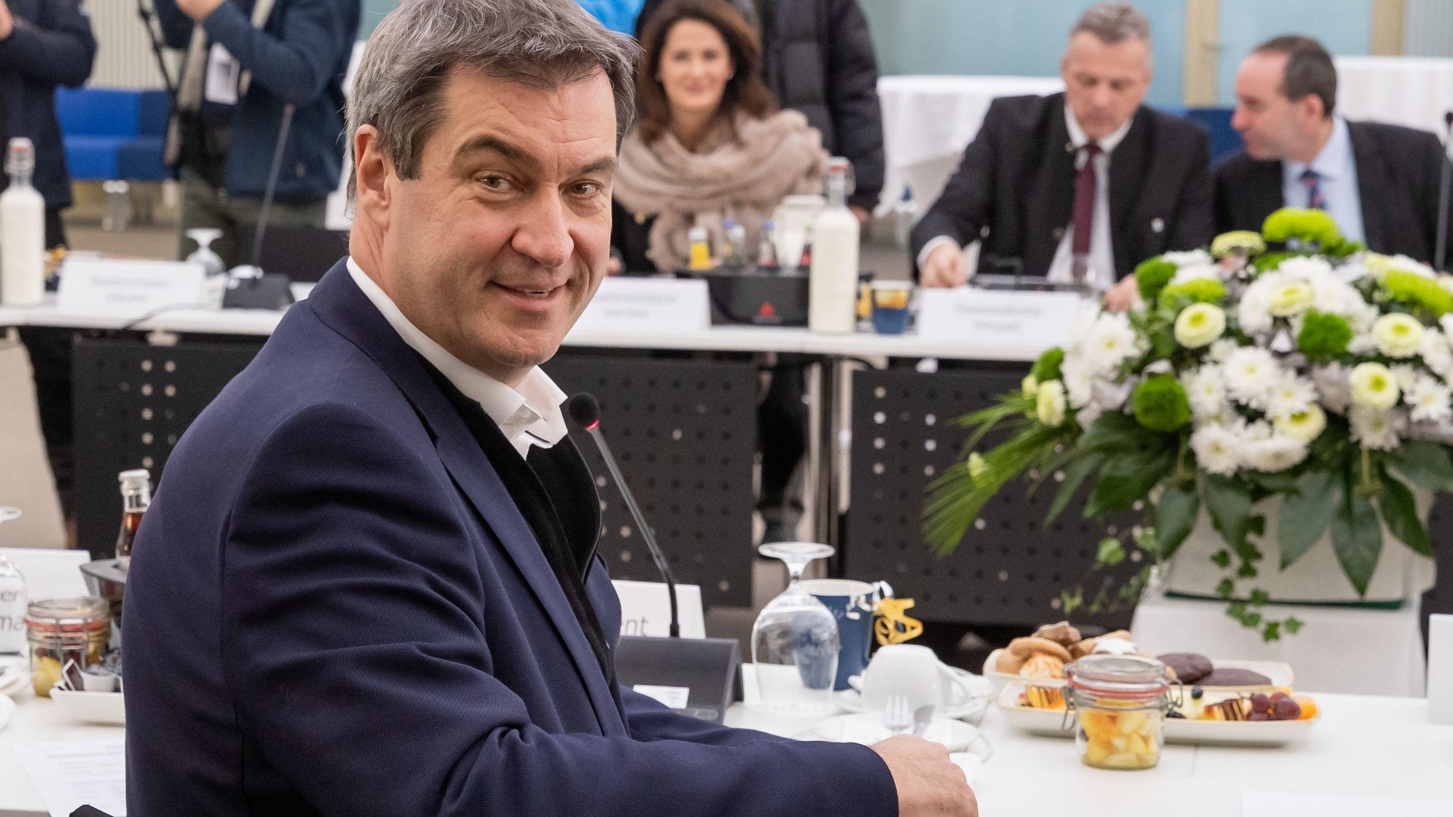 Archivbild: Ministerpräsident und CSU-Chef Söder