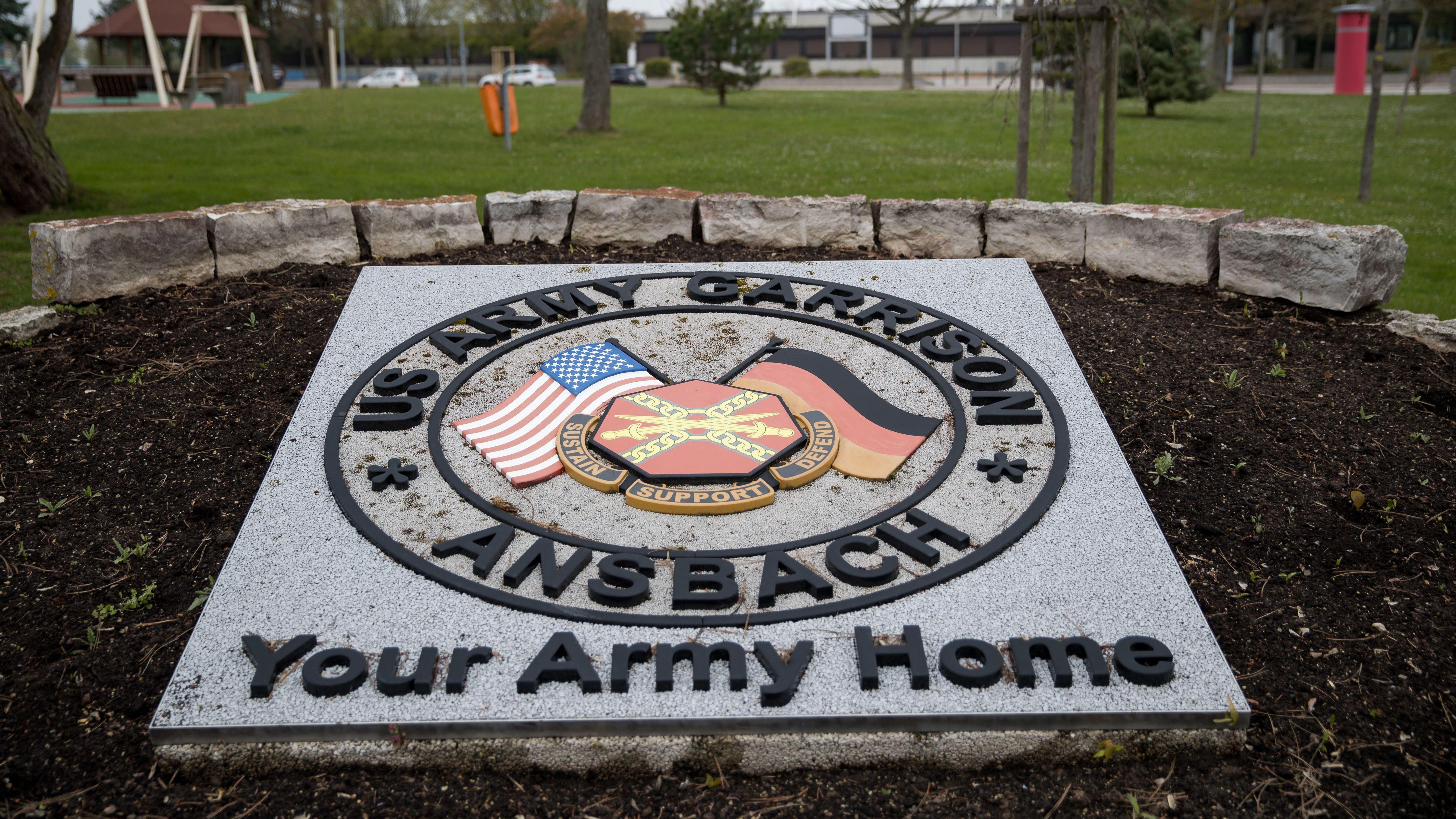 US-Armee-Stützpunkt in Ansbach-Katterbach