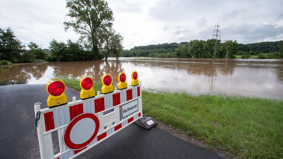 Das Chiemgau bereitet sich auf Hochwasser vor