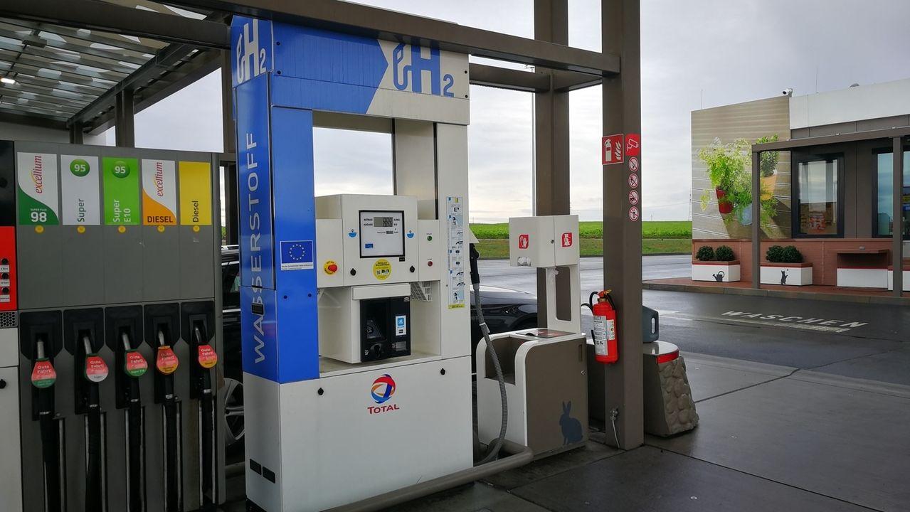 Wasserstofftankstelle in Biebelried