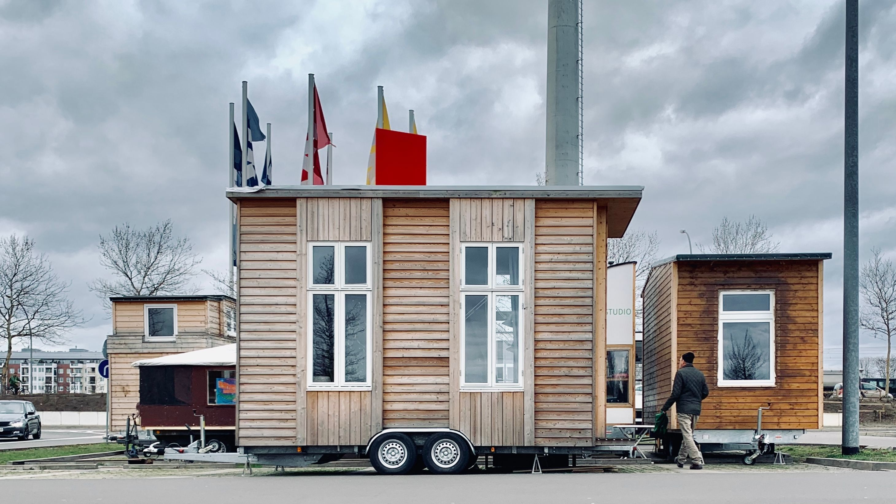 Tiny Houses: Transportabel, praktisch gut.