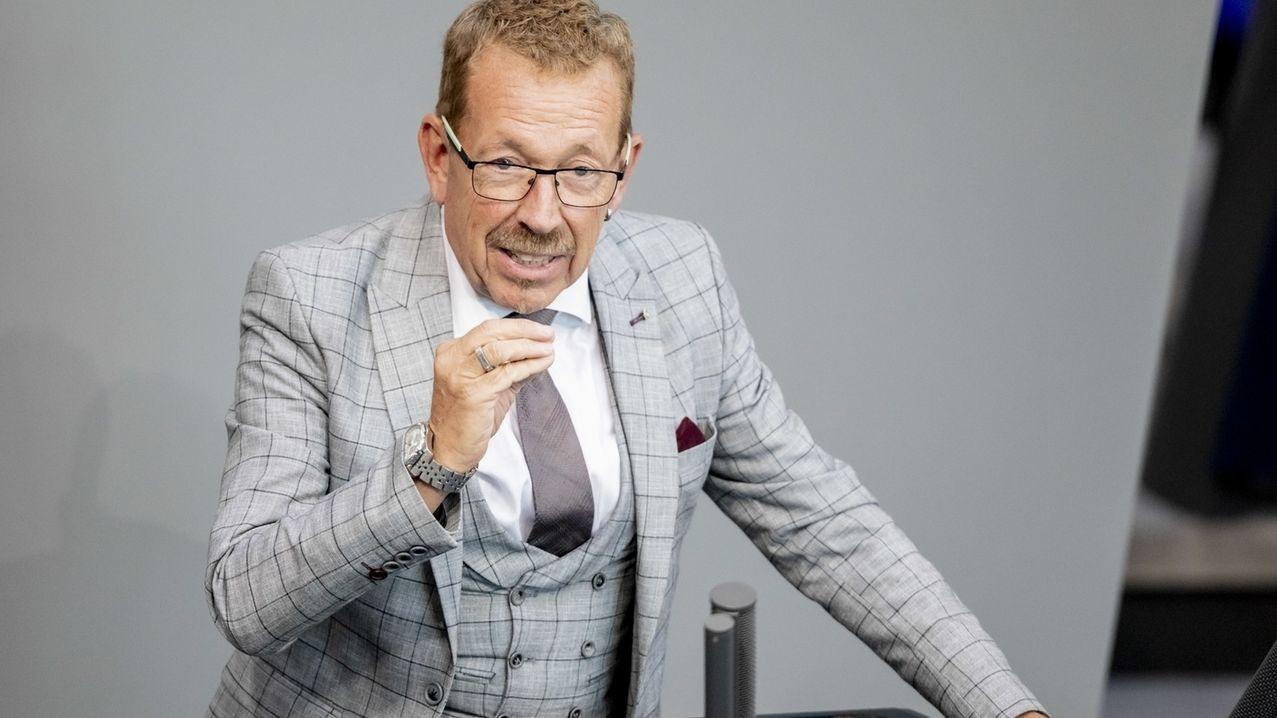 Karl-Heinz Brunner (SPD), Mitglied des Deutschen Bundestages, spricht im Plenum im Bundestag. (Archiv)