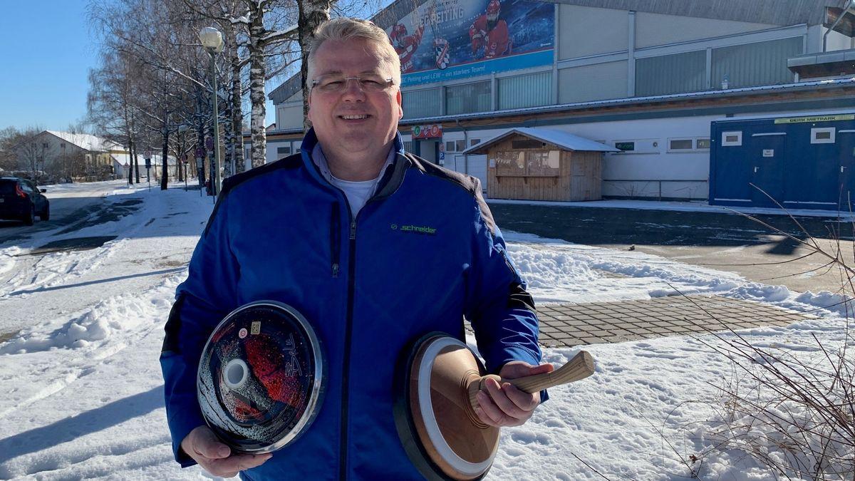 Christian Lindner soll als Funktionär Eisstockschießen zu den olympischen Spielen führen