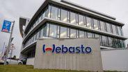 Das Hauptgebäude der Firma Webasto in Stockdorf am 28.01.2020. | Bild:pa/dpa/Peter Kneffel
