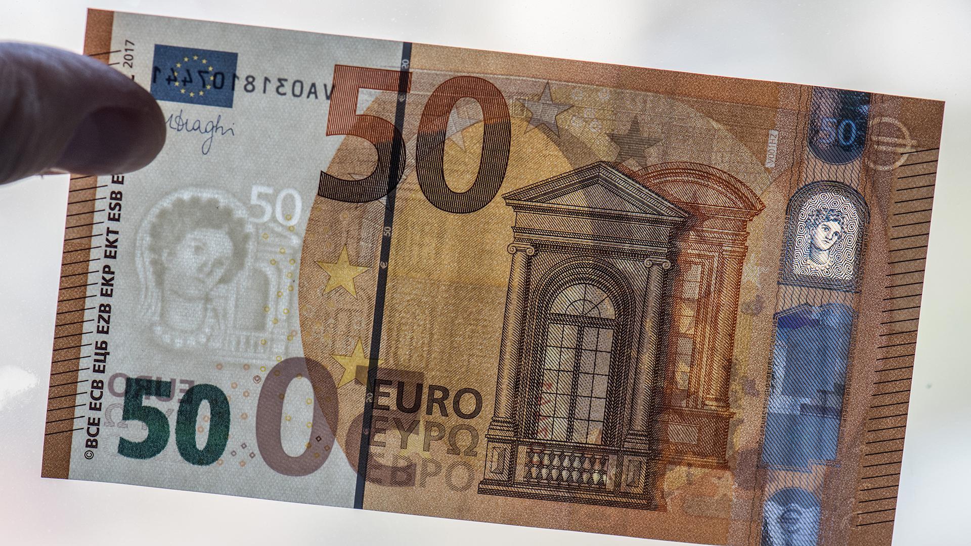 Die Neue 50 Euro Banknote