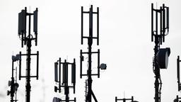 Antennen für Mobilfunk | Bild:dpa-Bildfunk