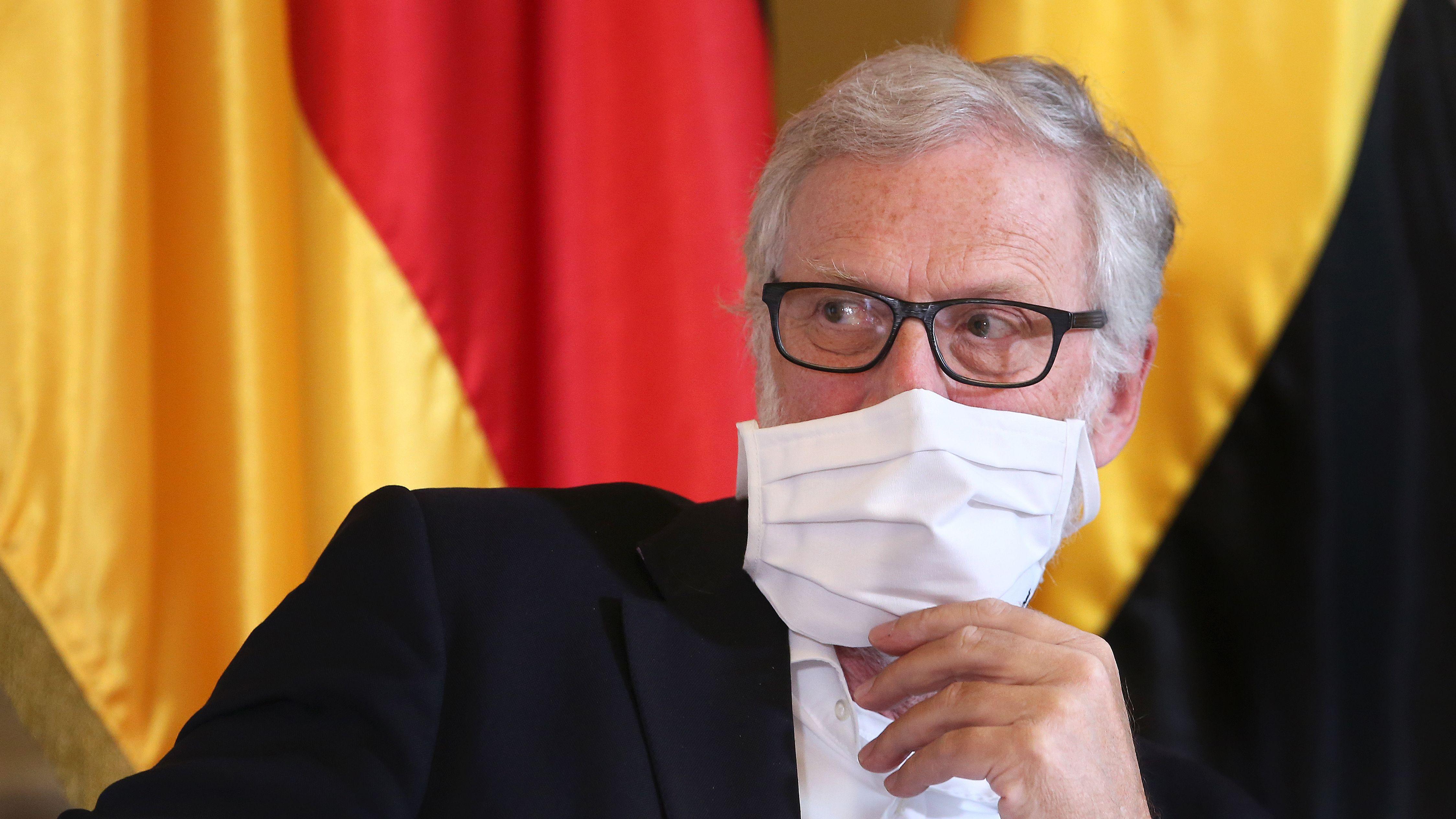 Sachsen-Anhalts Kulturminister Robra (CDU)