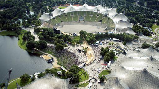 Das Münchner Olympiastadion