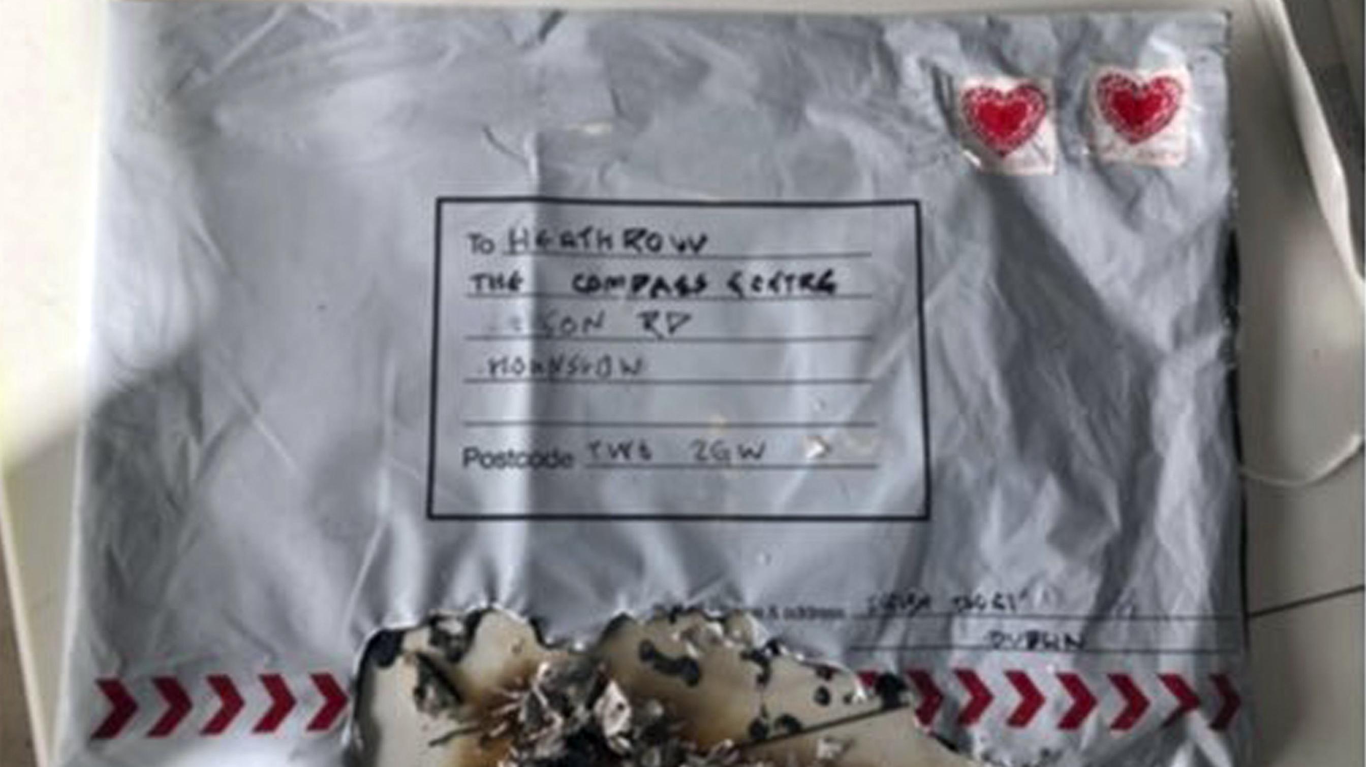 In London wurden drei Briefbomben entdeckt.